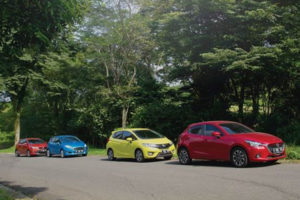 Perbandingan Mazda2 vs Jazz vs Yaris vs Fiesta