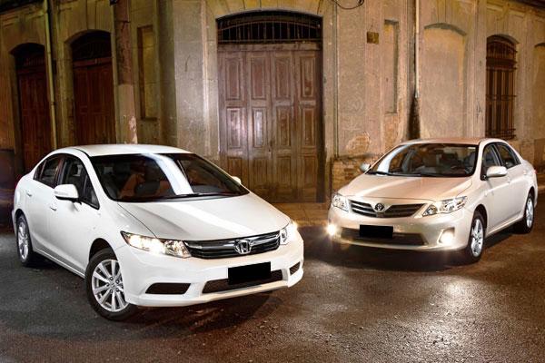 Perbandingan Honda Civic FB vs Corolla Altis Gen 2