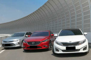 Perbandingan Mazda6 vs Toyota Camry vs Kia Optima