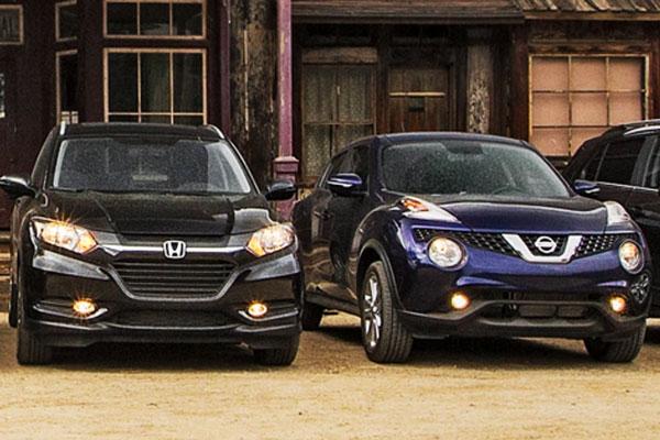 Perbandingan Honda HRV vs Nissan Juke