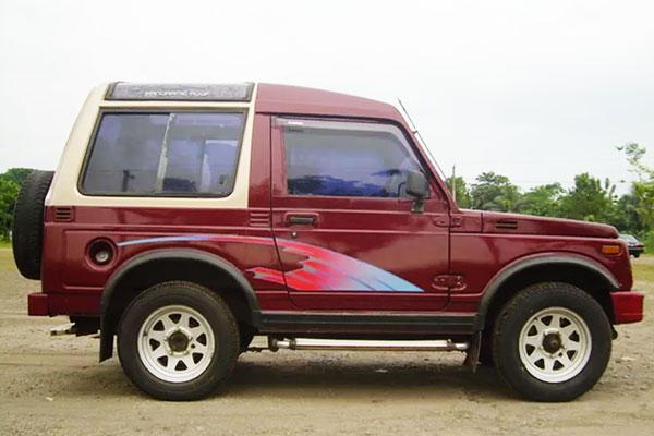 Sejarah dan Macam Tipe Suzuki Jimny / Katana di Indonesia