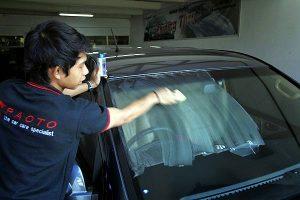 Membersihkan Jamur pada Kaca Mobil