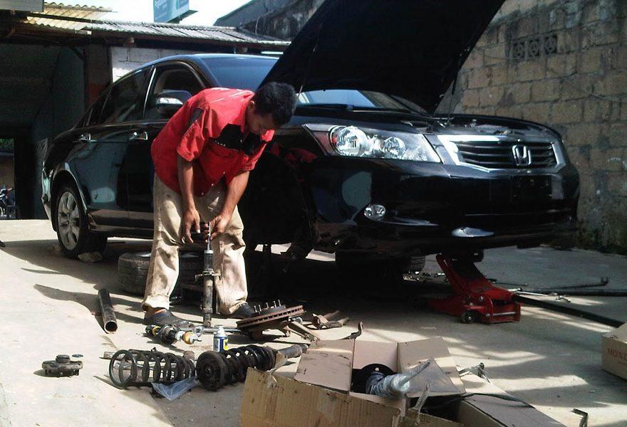 Cara Hemat dan Biaya Perbaikan Kaki-Kaki Mobil