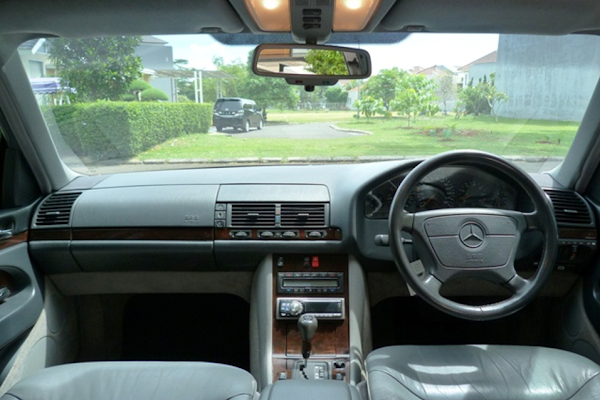 Review Spesifikasi Mercy W140 S-Class