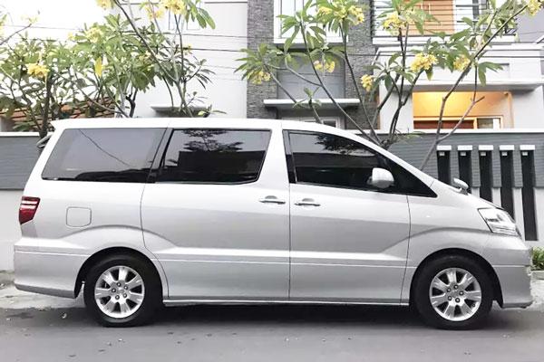 Spesifikasi Toyota Alphard Gen 1