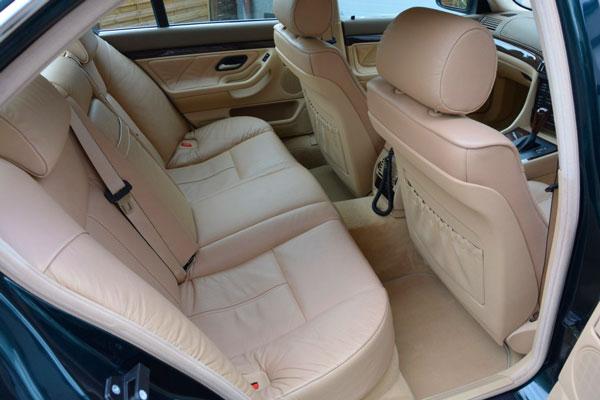 Interior Kabin Penumpang BMW E38 Seri-7
