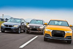 Komparasi BMW X1 vs VW Tiguan vs Audi Q3