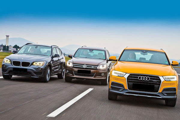 Komparasi BMW X1 vs VW Tiguan vs Audi Q3