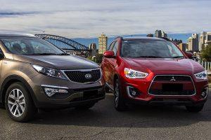Kia Sportagevs Hyundai Tucson vs Mitsubishi Outlander Bekas